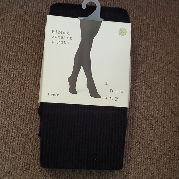 a new day Accessories - Ribbed sweater tights